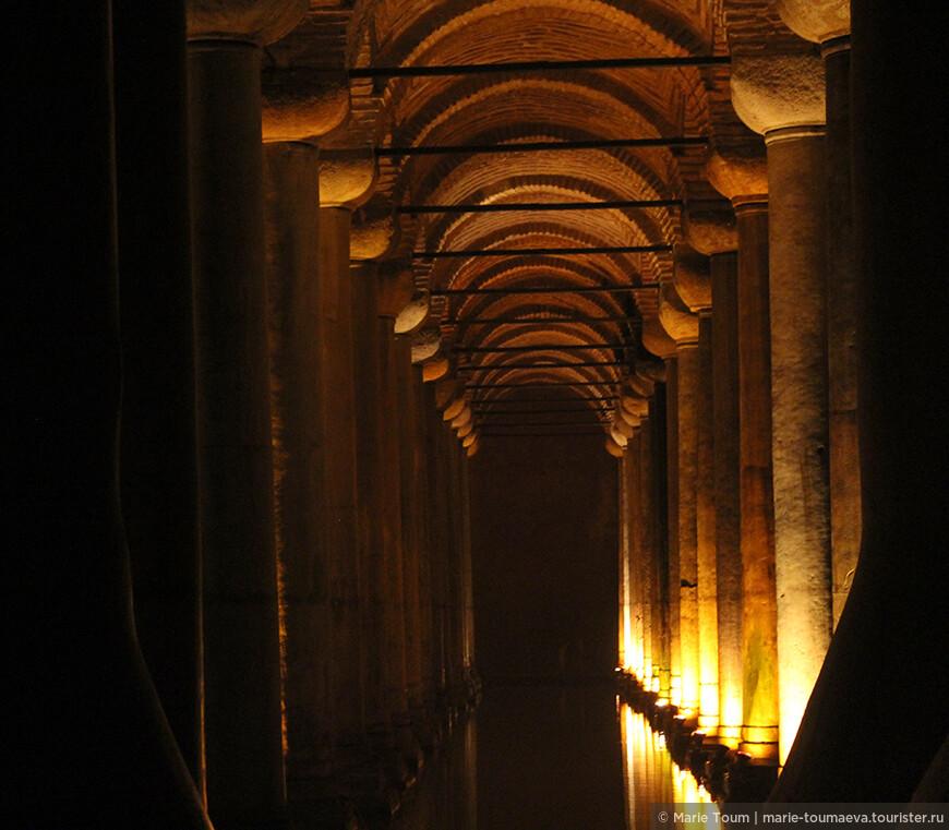 Цистерна активно использовалась до XVI века, впоследствии водохранилище было заброшено и сильно загрязнено, и только в 1987 году в очищенной Цистерне открылся музей.