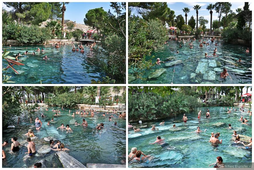 Об этих ваннах Клеопатры мечтала мама, а я в этот раз туда не полезла.