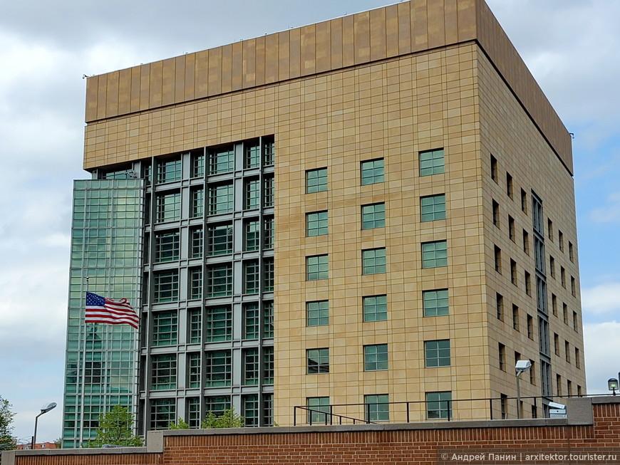 Хорошие пропорции у здания американского посольства.