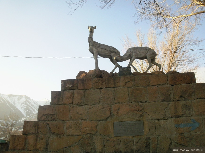 По дороге из Бишкека на Иссык-Куль