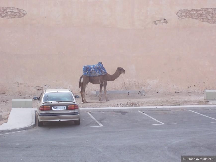 Припарковались.