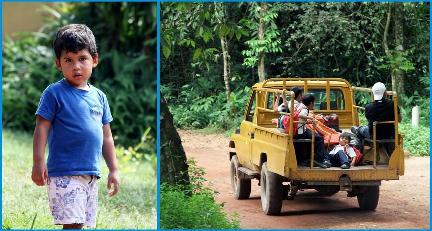 Индейцы пемоны — исконные жители приграничных земель Венесуэлы, Бразилии и Гайаны, одна из важнейших групп коренного населения Боливарианской республики. Большая группа аборигенов проживает в национальном парке Канайма, а одна из деревень расположена прямо на берегу одноименной лагуны. Совсем еще недавно благополучие племени зависело от удачливости охотников. Индейцы не могут рыбачить. В окрестных реках мало рыбы, поскольку холоднокровных убивают сапонины – мылящие вещества, выделяемые местными растениями. Однако внезапно возникший интерес к лагуне Канайма изменил жизнь коренного населения к лучшему. Вновь налаженное хорошее авиасообщение с большим миром, завезенные виды домашних животных, постоянная работа с туристами теперь исключают возможность наступления голодного времени для племени. Молодое поколение индейцев учит языки, некоторые даже поступают в университеты страны, многие возвращаются работать гидами в родную деревню.