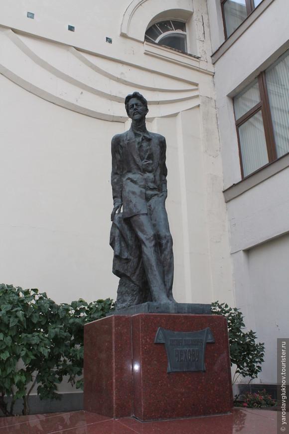 Памятник А.П. Чехову.