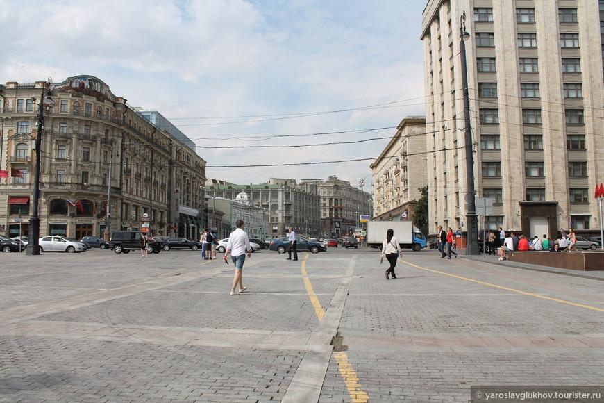 Улица Тверская (ранее Горького).