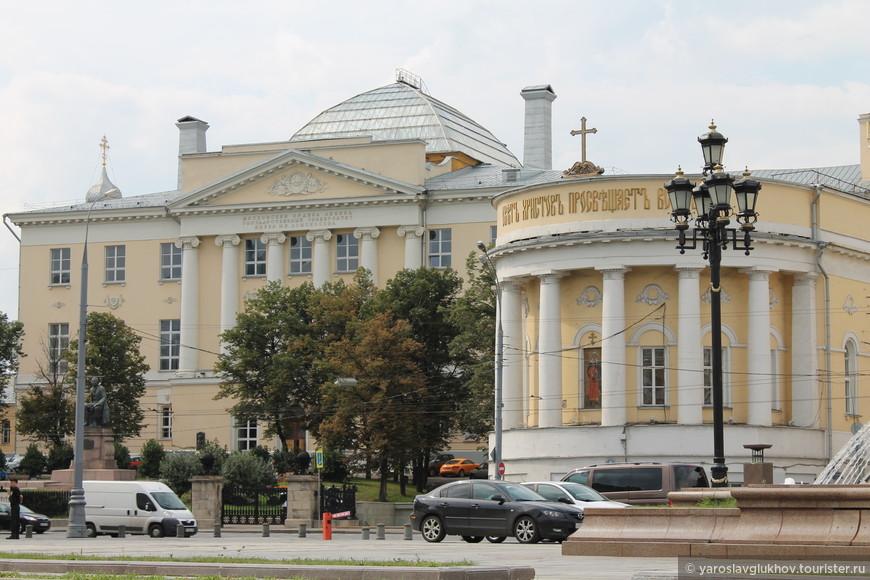 Факультет журналистики МГУ.