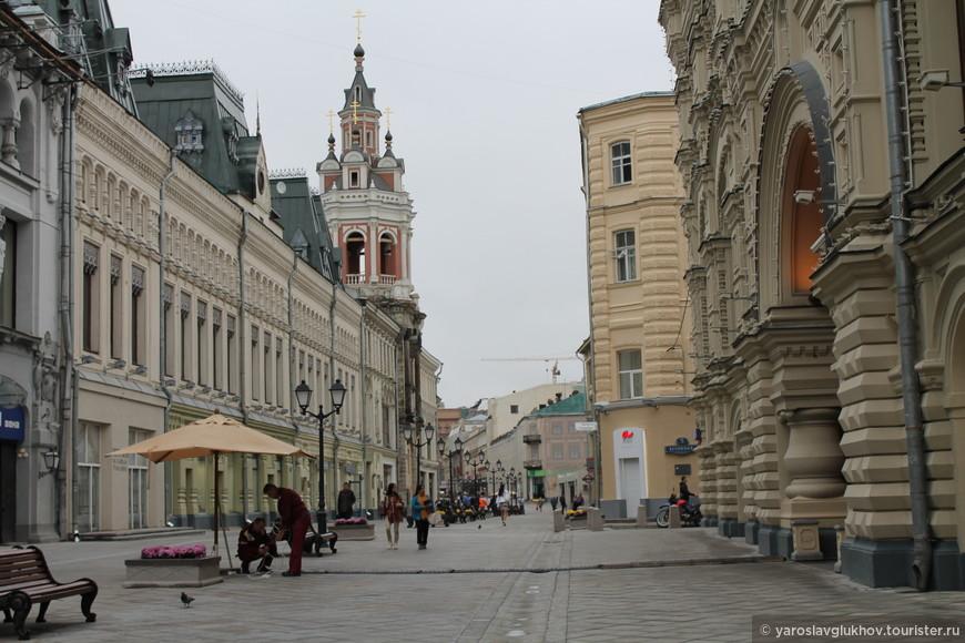 Улица Никольская.