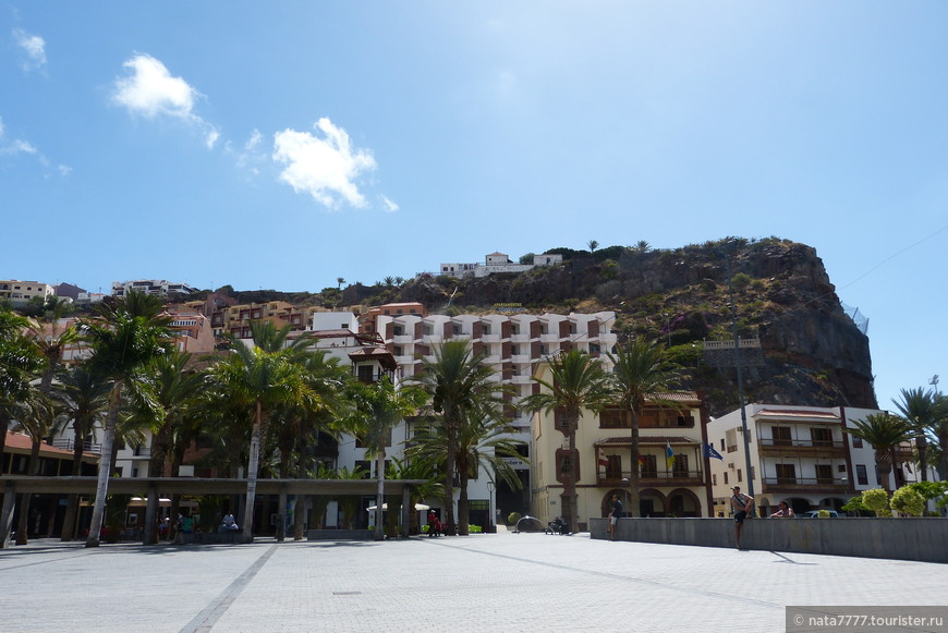 Улица испанского острова Ла Гомера.