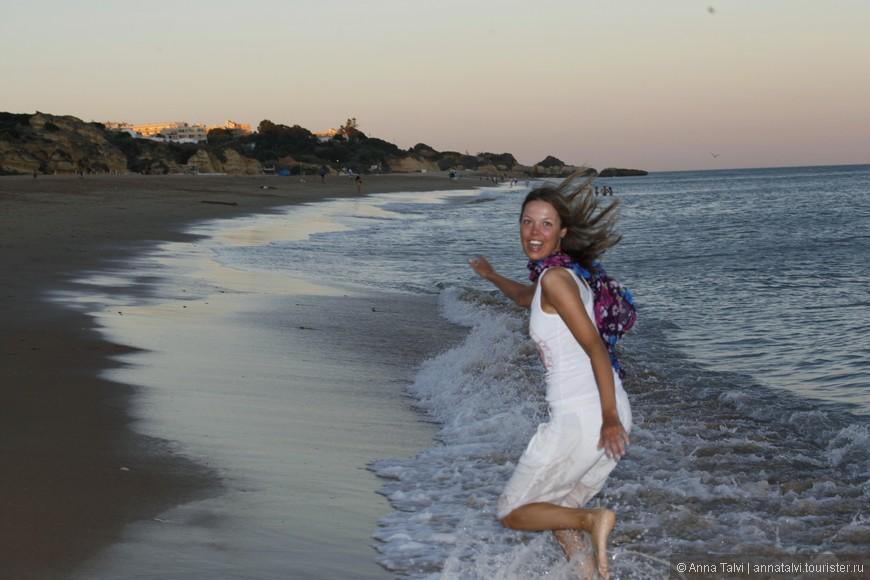 фотографировала ландшафт, а в кадр попало вот это счастливое чудо!