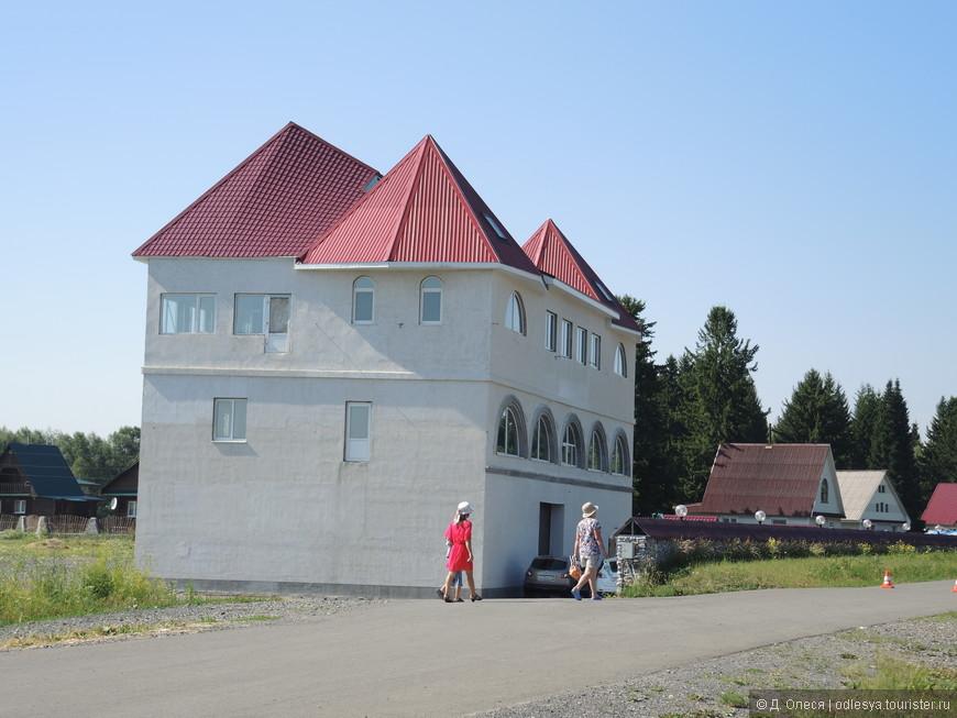 большой гостиничный дом