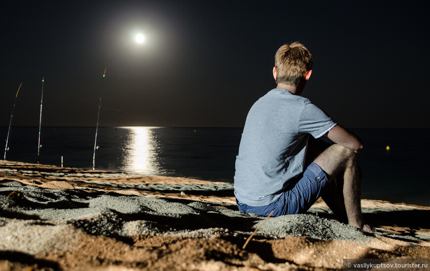 В свете луны...