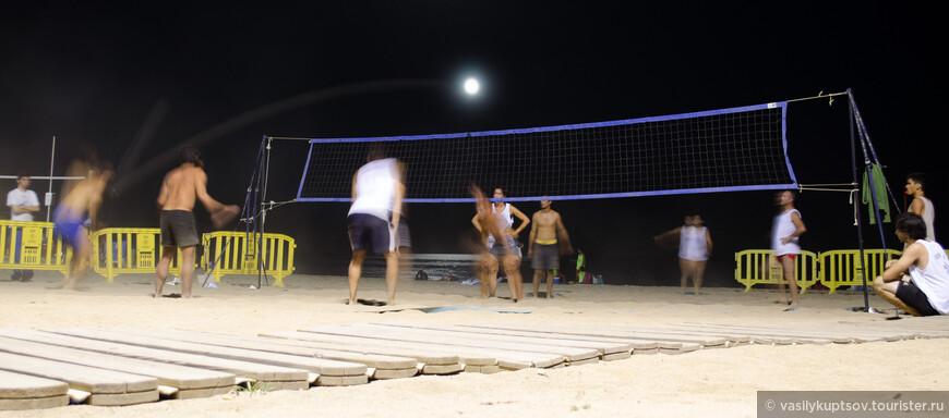 Луна - волейбол