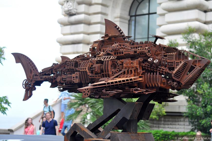 вход в Океанографический музей Монако