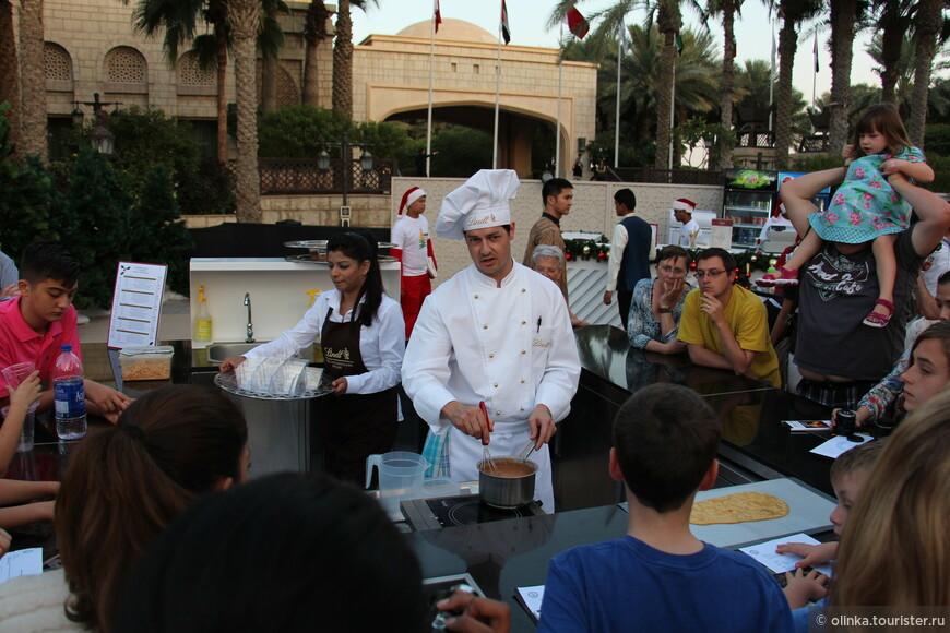 Мастер-класс по приготовлению десертов от кондитера Линдт.