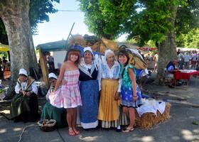 Фестиваль лаванды в Феррасьер - 6.07.2014