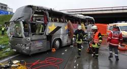 В Германии столкнулись автобусы с туристами из Польши и Украины