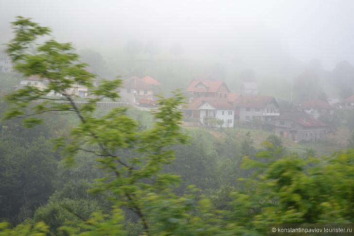 На поезде из Белграда в Бар (Черногория)