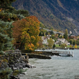 Швейцария. Монтрё