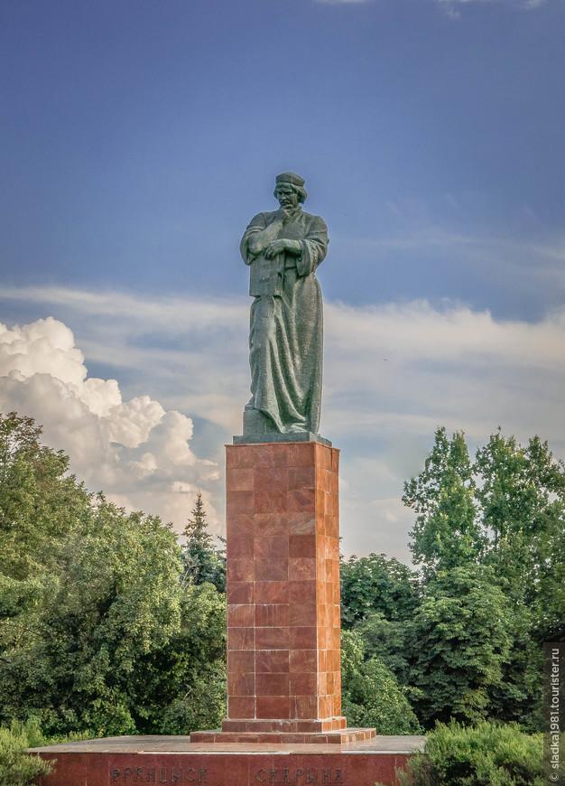 Памятник Франциску Скорине.