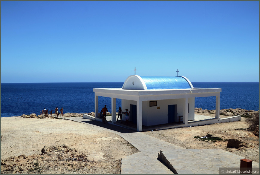 Церквушка на Каво Греко.