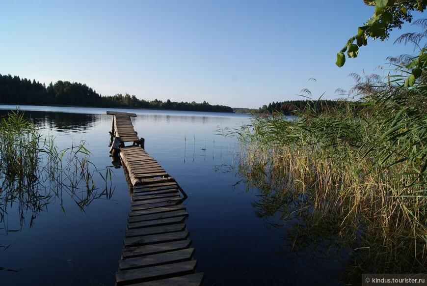 Как приятно ранним утром бултыхнуться с разбегу в кристально прозрачную воду...