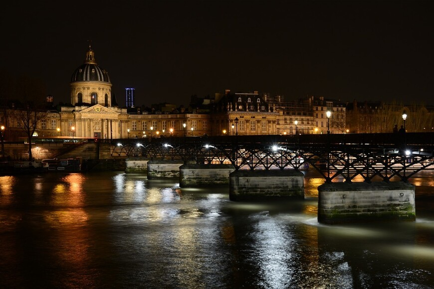 Вид на Институт Франции и Мост Исскуств