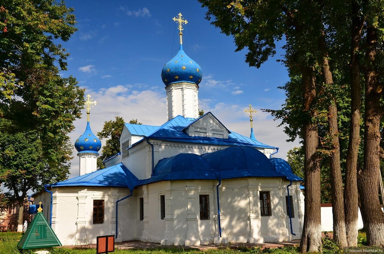 Федоровский монастырь. Введенская церковь., Золотое Кольцо. Переславль-Залесский
