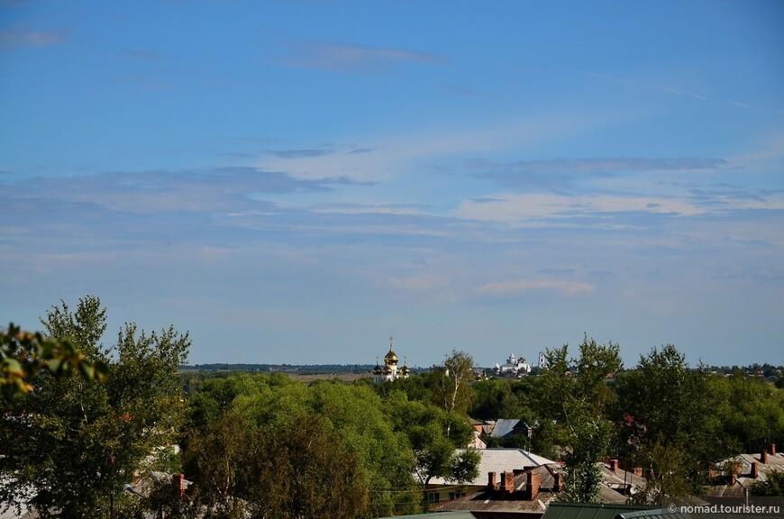 Вид от Сретенской церкви