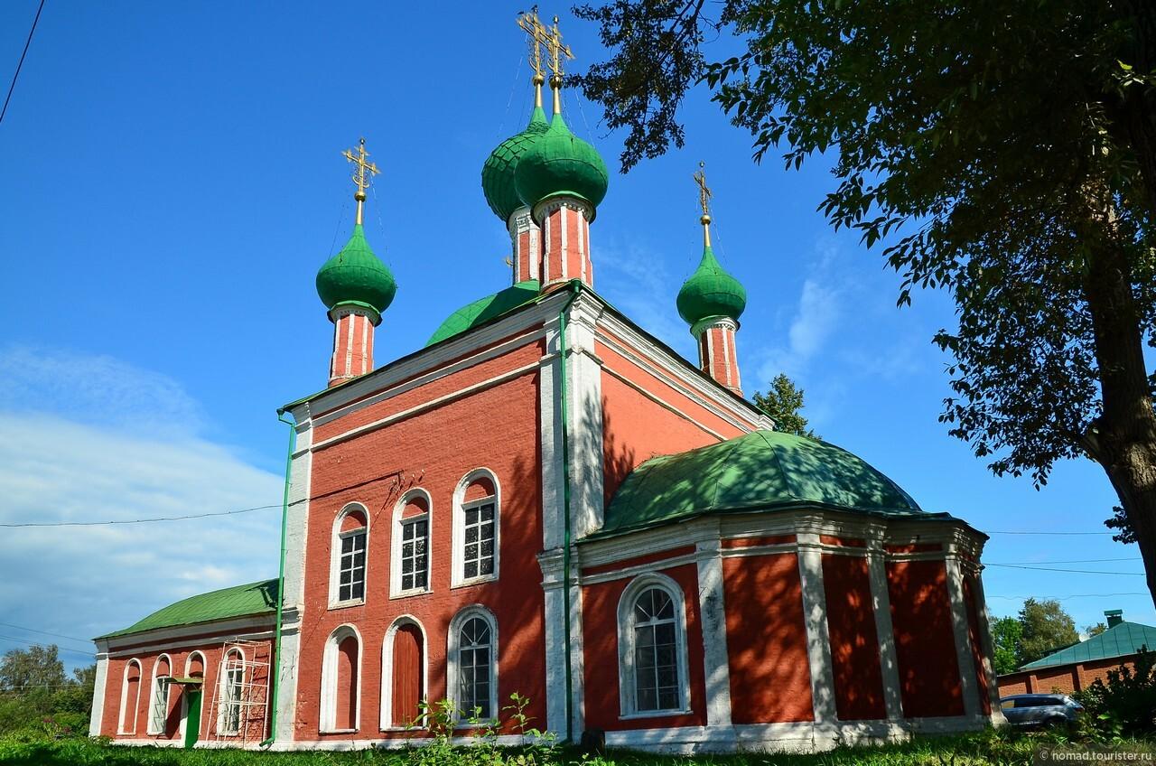 Церковь Александра Невского. , Золотое Кольцо. Переславль-Залесский