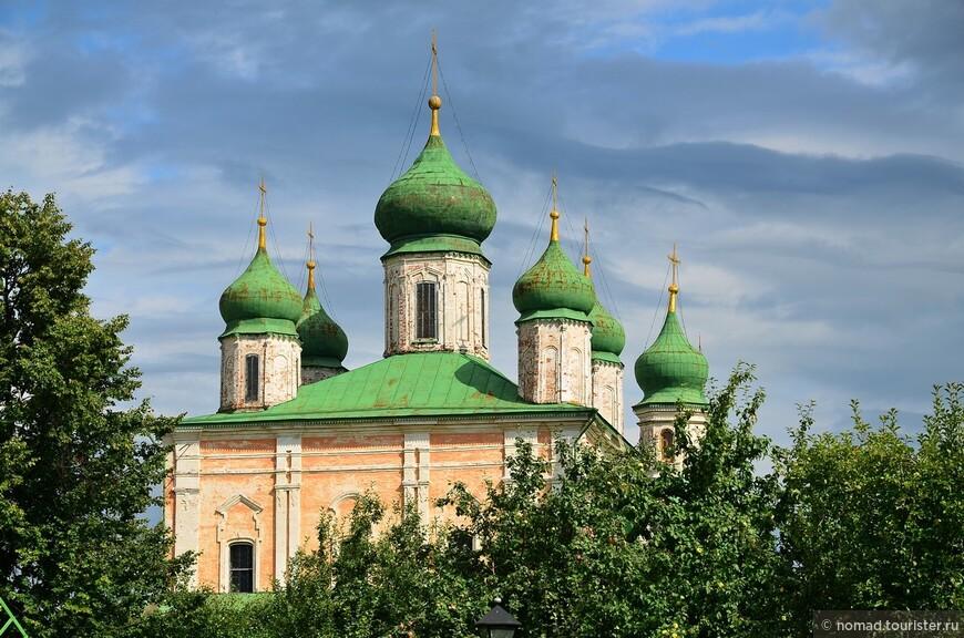 Горицкий Успенский монастырь. Собор Успения Пресвятой Богородицы.