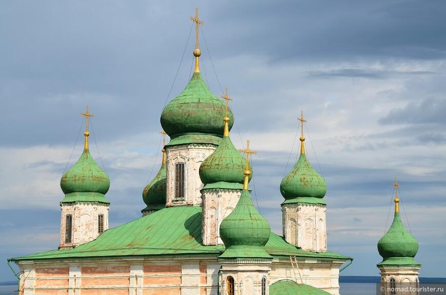 Горицкий Успенский монастырь. Собор Успения Пресвятой Богородицы