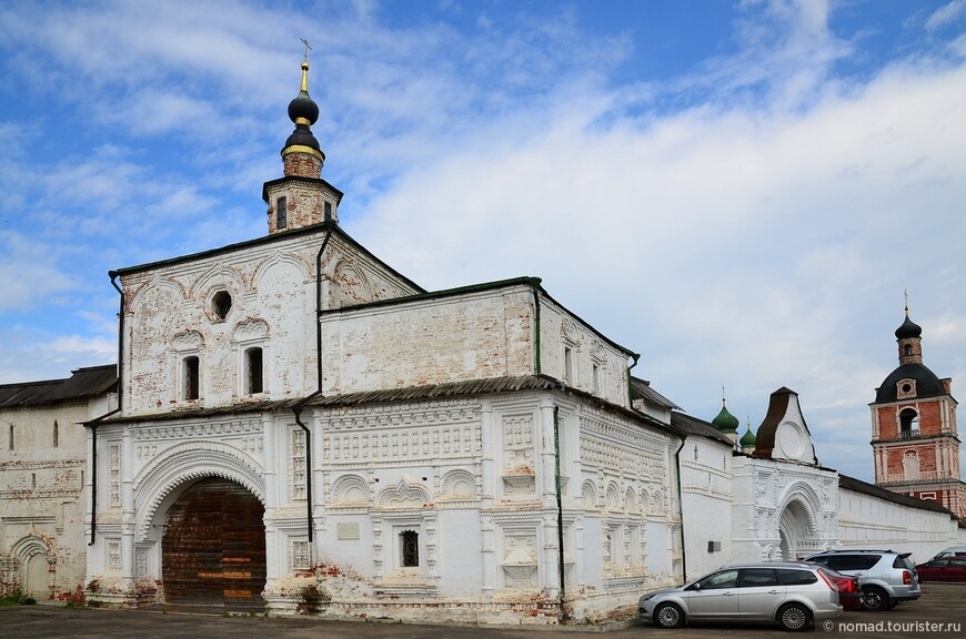 Горицкий Успенский монастырь. Церковь свт. Николая Чудотворца