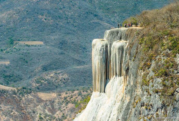 Секреты Мексики: застывшие водопады Иерве-эль-Агуа