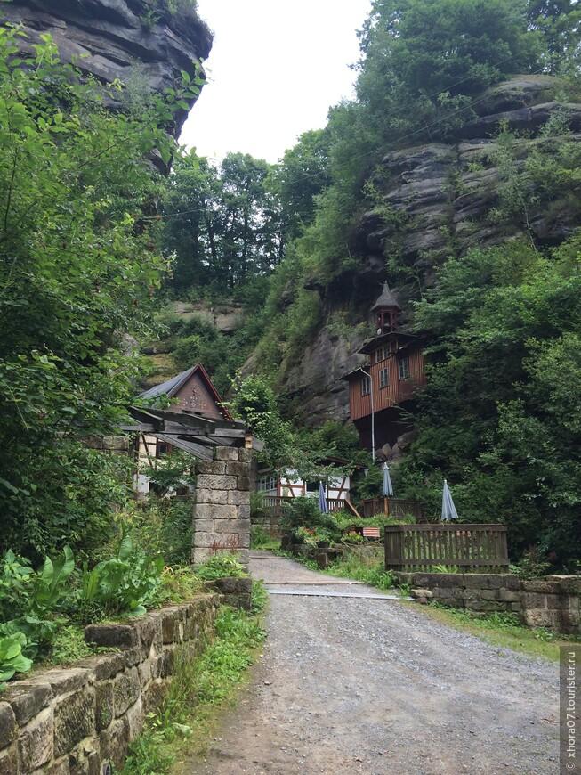Горняцкое поселение , Саксонская Швейцария , Саксония .