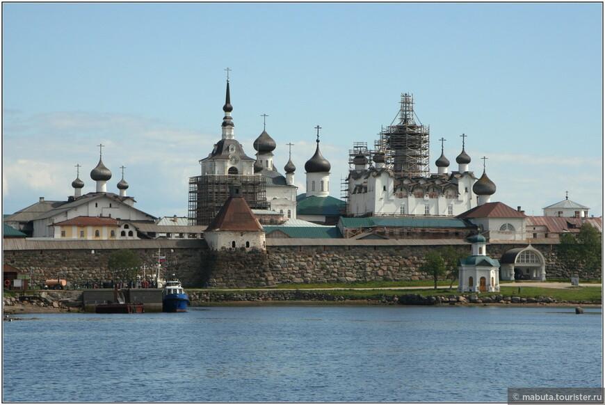 Большой Соловецкий остров. Отчаливаем.