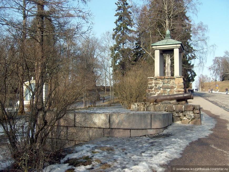 Монумент битве 1741 года