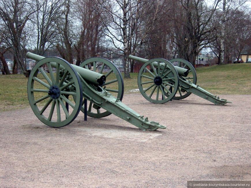 Французские пушки 90 K/77