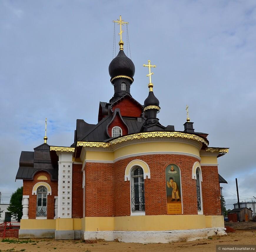 Церковь Серафима Саровского в Александрове.