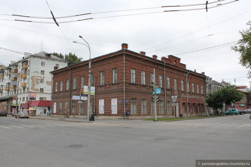 Дом купцов С.С. Боброва и П.Г. Гаврилова.
