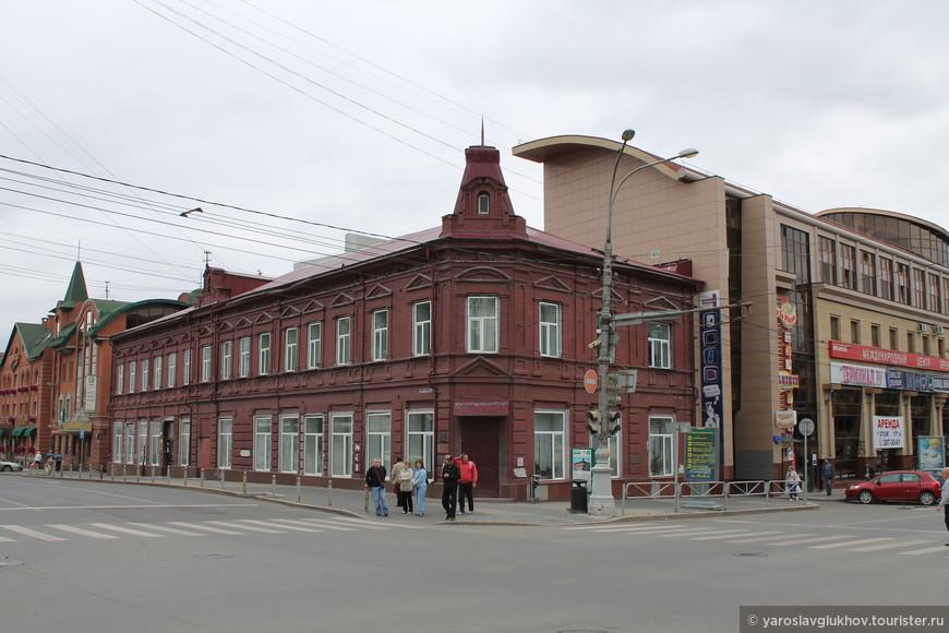 Дом купчихи М.М. Барановой.