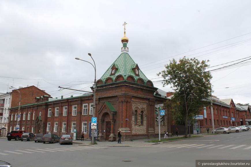 Часовня Святого Стефана Великопермского.