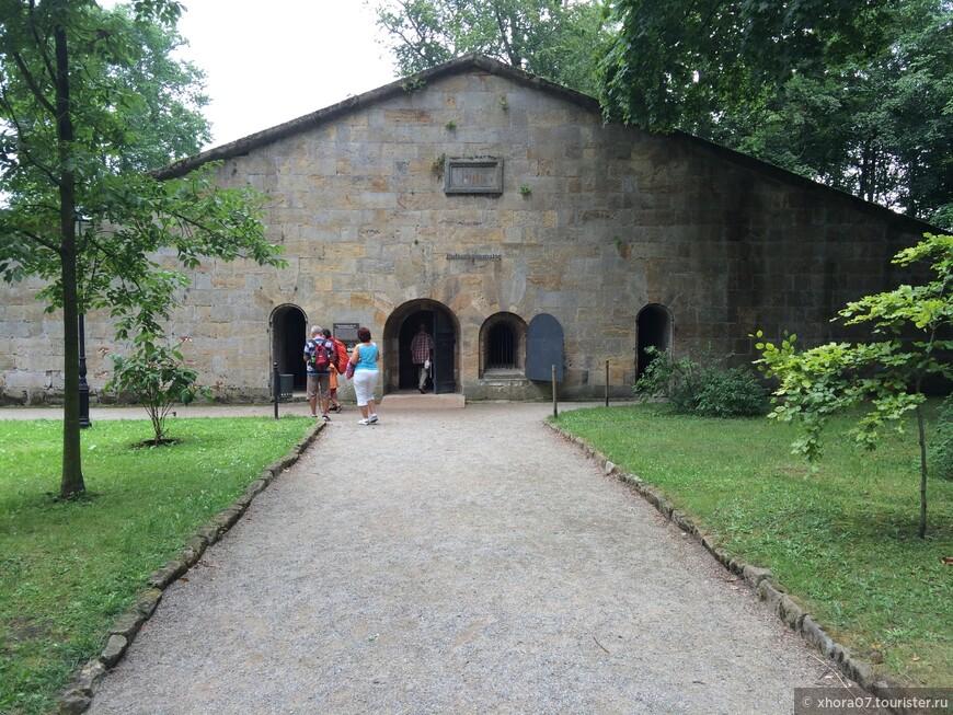 Пороховой склад . Крепость Кёнигштайн , Саксония , Германия .