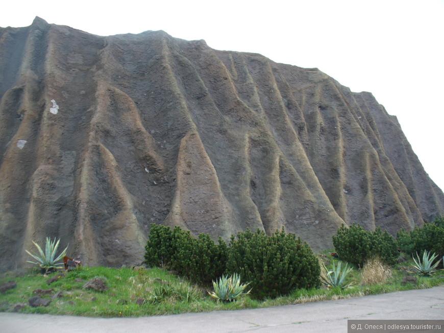 Место, где показывают вулканическое шоу