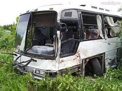 В центре Нью-Йорка столкнулись два туристических автобуса
