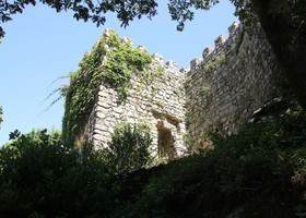 Крепость мавров. Синтра. Португалия