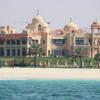Вид на береговую Дубая с катамарана