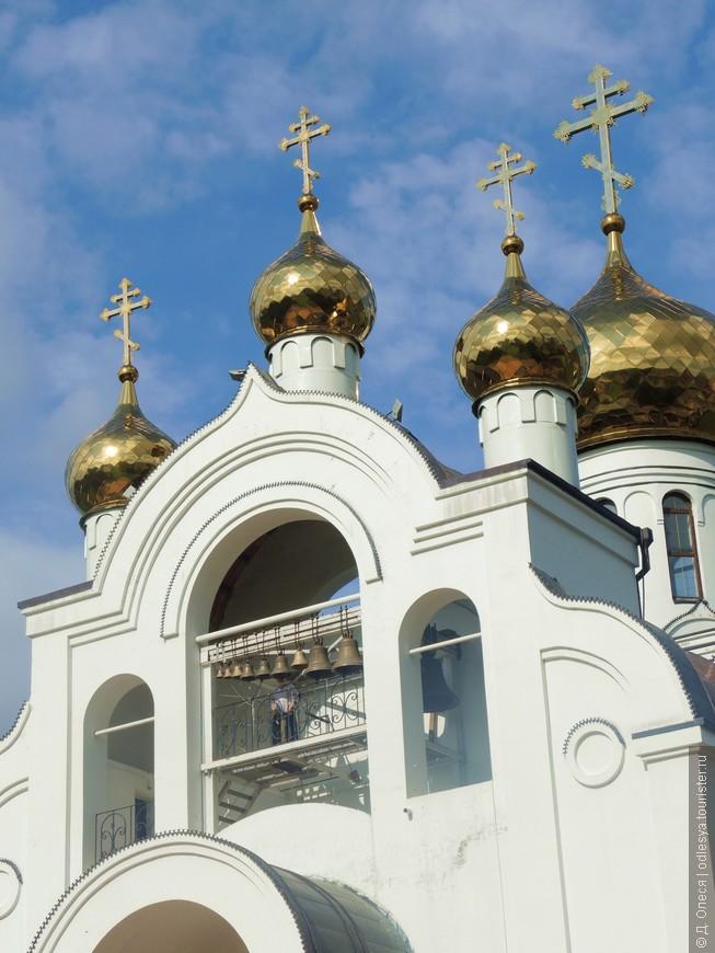 колокольня и купола