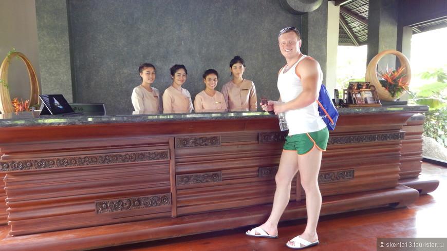 отель Marina Phuket Resort, 4* Ресепшн