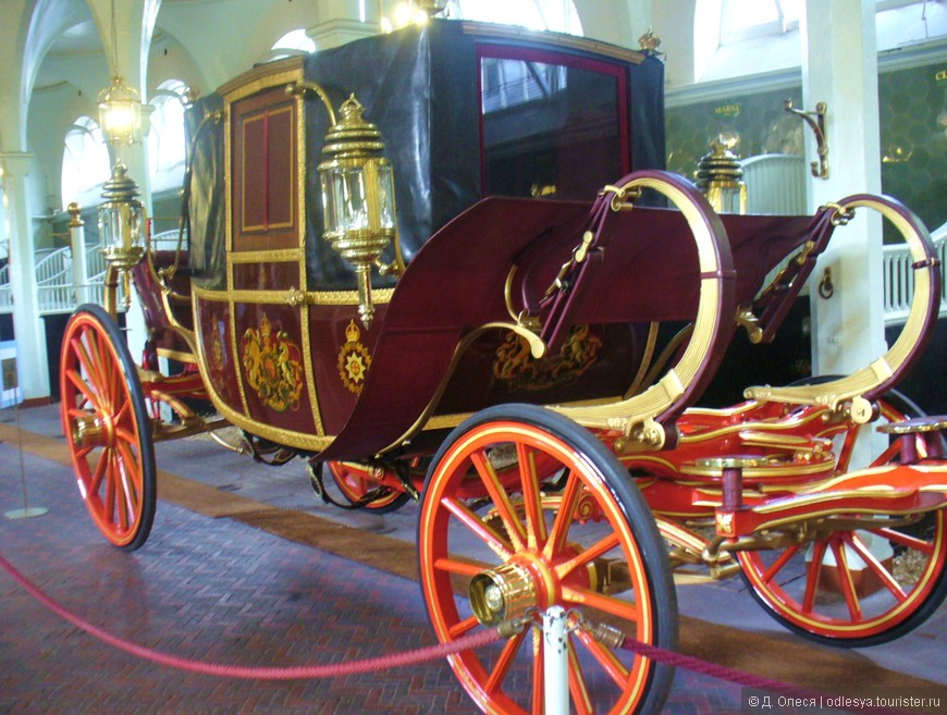 это ландо используется в свадебных мероприятиях членов королевской семьи