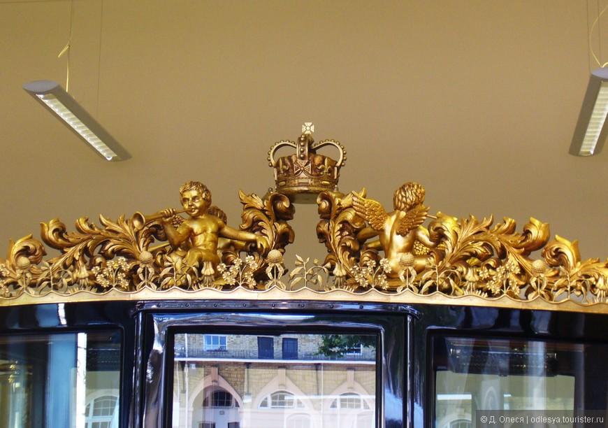 верхний декор кареты для открытия сессий парламента