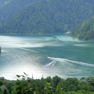 Путь к сердцу Абхазии. Горы, реки, Рица